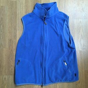 Blue Fleece Vest